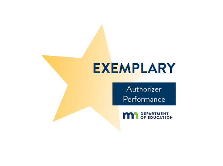 MN Department of Education exemplary star
